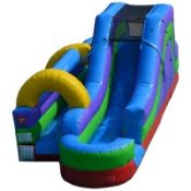 New, Water Slide Inflatable, Slip N Slide Inflatable, Water Slide, Bounce House with Water, Inflatable Rental