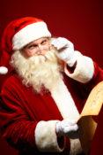 Santa, Snow Globes, Holidays